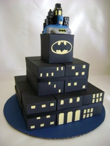 Batman Favor Cake